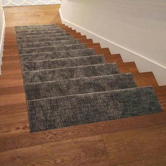 Custom Stair Runner by Healdsburg Floor Coverings